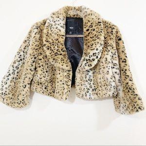 Massimo Animal print coat